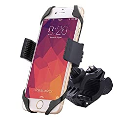 Bike Mount,jamron Universal Premium Phone Mount for Bike/motorcycle Handlebars,360 Degree Rotation,fits Any Smartphones(iphone,samsung,nokia,motorola...),holds Devices up to 3.75 in Wide(black)