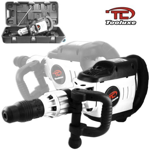 Tooluxe Industrial-Grade Electric Demolition Jack Hammer With 2 Extra Sds Bits