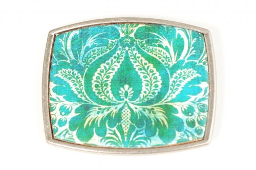 Princess & Butch Interchangable Belt Buckles (Square) (Lotus)