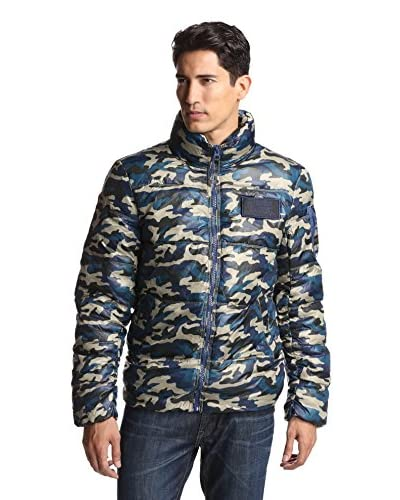 Alpha Industries Men's Ice Vapor Camouflage Utility Jacket