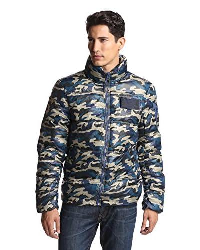 Alpha Industries Men's Ice Vapor Camouflage Utility Jacket