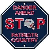 NFL New England Patriots Stop Sign