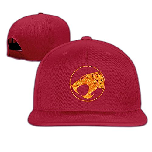 Custom Unisex-Adult Thunder Cats Casual Hiphop Visor Cap Red (Thunder Micro Jacket compare prices)
