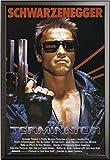 Terminator – Poster – Teil 1 One Sheet Version 2 + Wechselrahmen der Marke Shinsuke® Maxi aus edlem Aluminium (ALU) Profil: 30mm schwarz