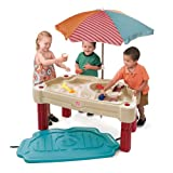 Step2 Adjustable Sand and Water Table, Tan/Maroon/Blue