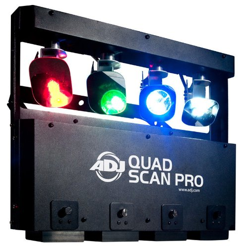 New Stage Lighting Effects 4X Rgbw Professional Adj Quad Led Scanner