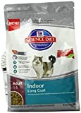 Hills Science Diet Adult Indoor Long Coat Cat Food, 3.5-Pound Bag