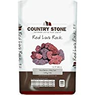 Country Stone 93110 Red Lava Rock-1CF RED VOLCANIC ROCK