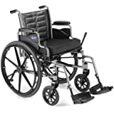"Invacare LightWeight Tracer EX2 Wheelchair 20"" with Elevating Legrest-Blue (Folding, Assembled)"