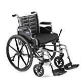 Invacare LightWeight Tracer EX2 Wheelchair 20″ with Swingaway Footrest-Blue (Folding, Assembled)