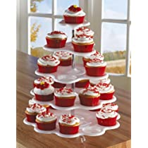 Tower White 5 Tiered Cupcake Holder Stand