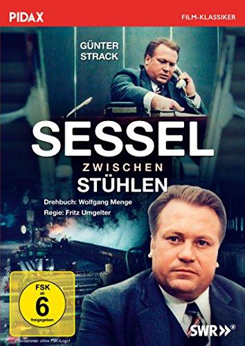Sessel zwischen Stühlen / Meisterwerk von Kultautor Wolfgang Menge mit Günter Strack (Pidax Film-Klassiker)