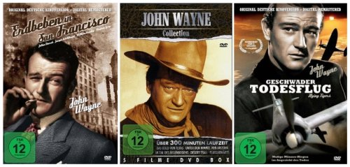 John Wayne Movie Edition II (3DVDs - 7 Filme)