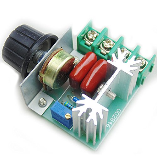 Pwm Ac Motor Speed Control Controller 2000W Adjustable Voltage Regulator 50-220V