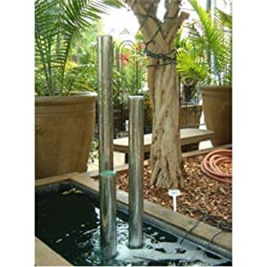 """Bundle-19 Tall Water Chimes Fountain (2 Pieces) Size: 45"""""""
