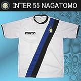 レプリカサッカーシャツ●インテル 長友 55番 アウェイ半袖●T902