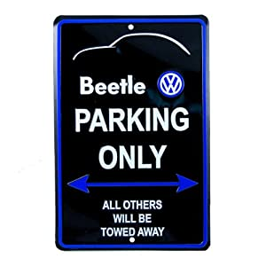 Amazon.com: Volkswagen Beetle Parking Only Sign All VW 4122