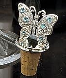 Silverplated Butterfly Bottle Stopper by Godinger