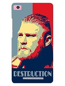 RedMi 4i Back Cover - Brock Lesnar - Destroyer - For Brock Lesnar Fans - Designer Printed Hard Shell Case