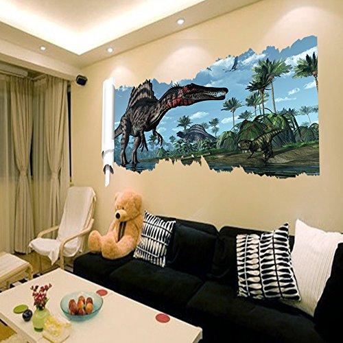 3d-dinosaures-mural-autocollants-parc-jurassique-decoration-bricolage-dessin-anime-enfants-affiches-