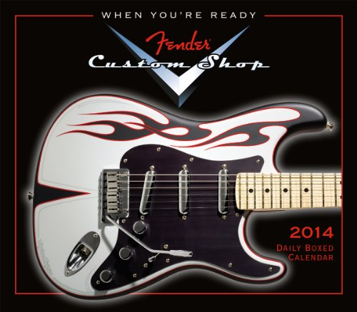 Fender Custom Shop Guitar 2014 Boxed/Daily (calendar)