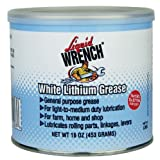 Liquid Wrench L666 White Lithium Grease - 16 oz.