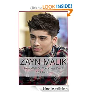 Zayn Malik Fact Guide - Plus Zayn's Tattoo Guide - Test your One Direction Knowledge Kelly Johnson