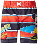 Disney Little Boys' Mickey Swim Trunk