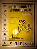 img - for Homophones Workbook B Grades 3-6 book / textbook / text book