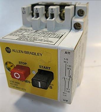 Allen Bradley Iec Manual Motor Starter Protector 140 Mn