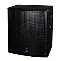 Yorkville LS801P Powered Subwoofer Integrated 1500 Watt Amplifier 18 Inch Woofer Black