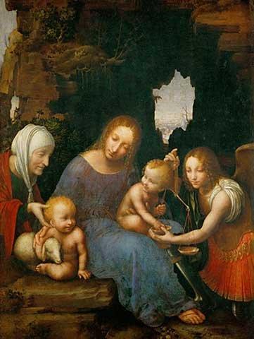 Fine Arts Reproduction: Cesare da Sesto