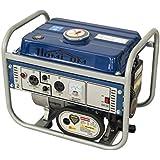 HomCom 2HP 750 Watt 2-Stroke Gas Powered Portable Generator - Blue