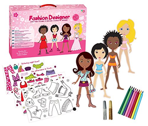 Girls Girl Child Kids Children Design Your Own Outfit Kit Number 1 Xmas Christmas Present Gift Fun Toys & Games Idea Age 4+