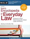 img - for Nolo's Encyclopedia of Everyday Law: Answers to Your Most Frequently Asked Legal Questions, 8th Edition book / textbook / text book