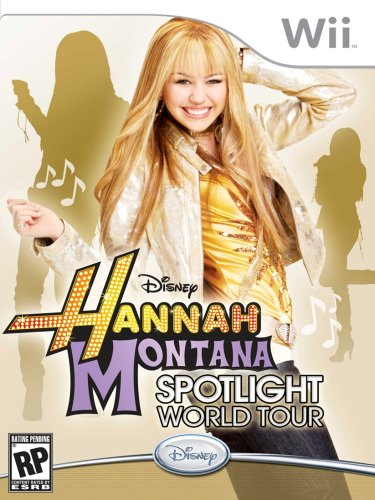 Hannah Montana: Spotlight World Tour - Nintendo Wii