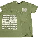 The Office Michael Scott's Fun Run Race T-Shirt Tee