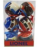 Lionel Ornaments, Set of 6