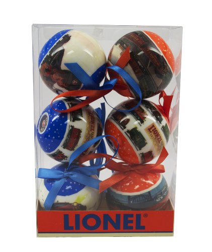 Lionel Ornaments, Set of 6 - 1