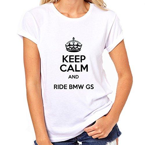 Car BMW GS T-Shirt Womens Classic T-Shirt Medium