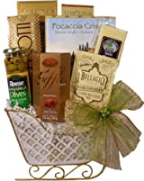Delight Expressions™ 'Tis the Season Christmas Gourmet Gift Basket - Holiday Gift