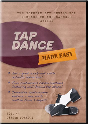 Tap Dance Made Easy - Vol 4: Cardio Workout (Tap Dance Instructional Dvd compare prices)
