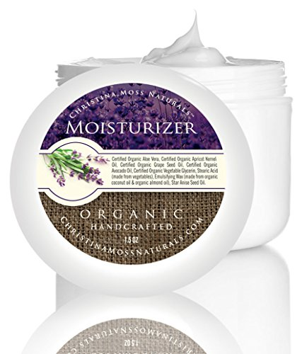 Facial Moisturizer, Organic and 100% Natural