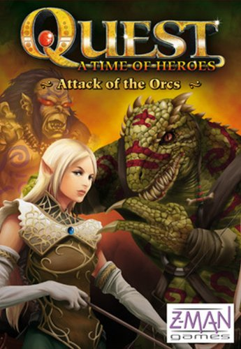 Quest  A Time of Heroes: Attack of The Orcs (Heroes Quest Dice compare prices)