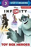 By Christy Webster Toy Box Heroes (Disney Infinity) (Step into Reading) [Paperback]