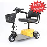 Mega Motion Three Wheel Scooter, Yellow