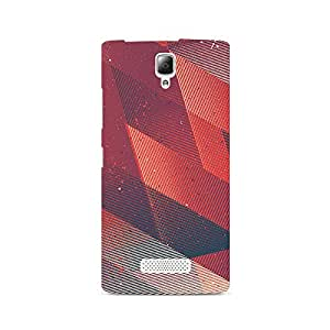 Ebby Linear Gradient Arrows Premium Printed Case For Lenovo A2010