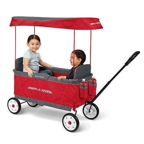 Radio Flyer Kids Ultimate EZ The Best Folding Wagon Ride On