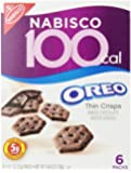 100 Calorie Packs Oreo Thin Crisps, 6-Count  (Pack of 6)