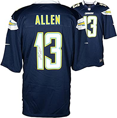 Keenan Allen San Diego Chargers Autographed Nike Game Navy Blue Jersey - Fanatics Authentic Certified